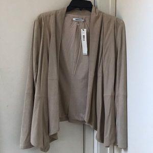 Dkny nyc beige sweater jacket NWT medium